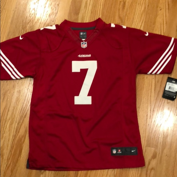 baf27d3fa 49ers Kaepernick Jersey Red
